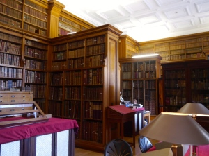 Mr. Fitzwilliam's library