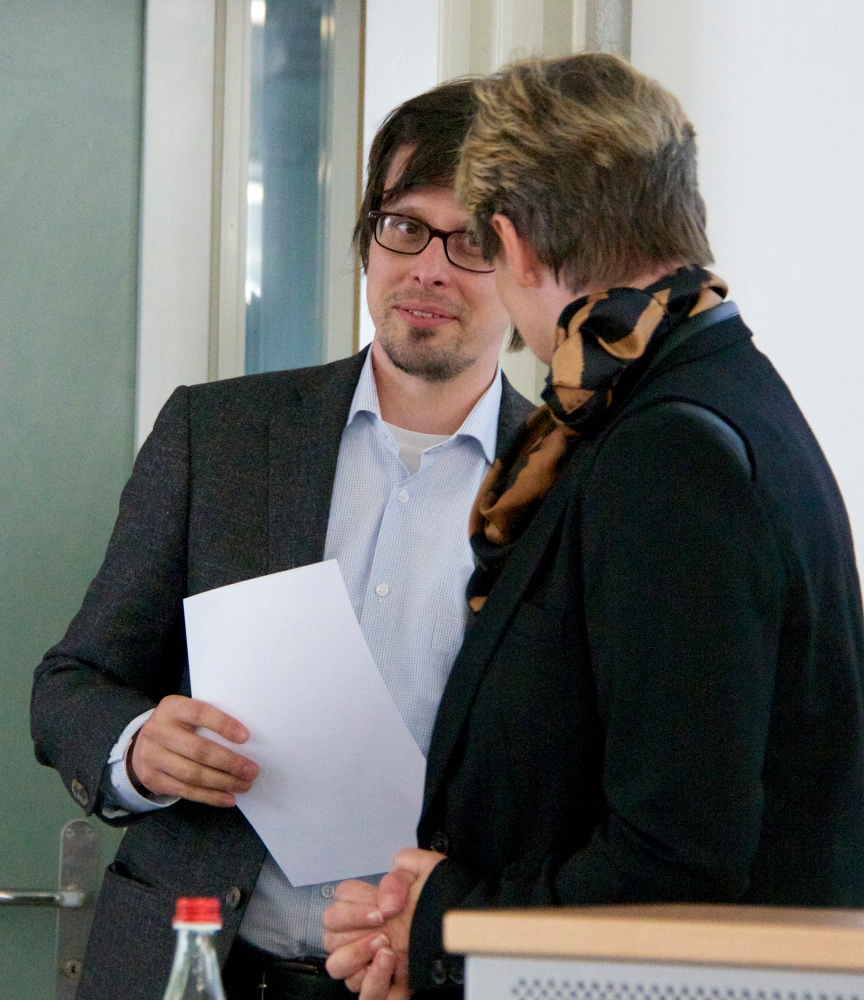 ZKS/SAGG Award to Dr. Magnus Wieland for his brilliant thesis about Jean Paul's digressions as