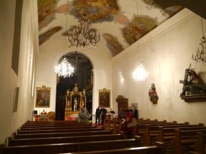 L'Eglise du couvent d'Hermetschwil où a lieu la présentation du vernissage