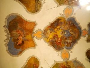 Fresques du plafond