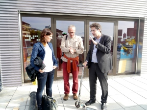Laure-Emanuelle Perret, Robert Cowie and Christophe Ballif