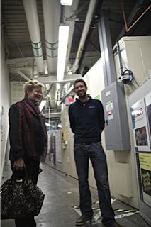 ZKS President visiting Dr. Corsin Battaglia (2nd ZKS/EPFL Award) at UC Berkeley (4/4)