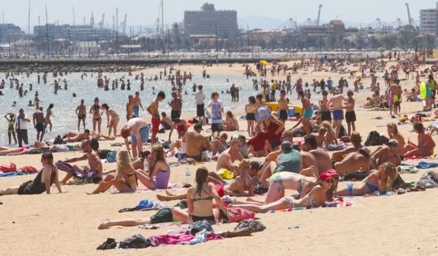 St Kilda beach, Sydney