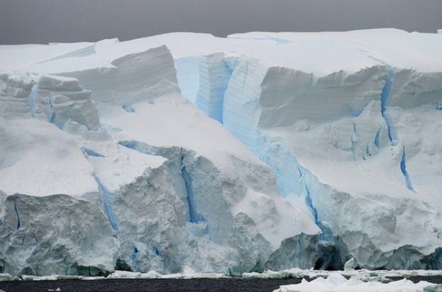 It may already be too late to stop Antarctic ice sliding into the ocean. EPA