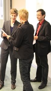 Nicole Reichenberger, Jacqueline Schindler und René Wetzel