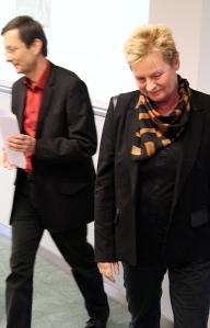 René Wetzel und Jacqueline Schindler