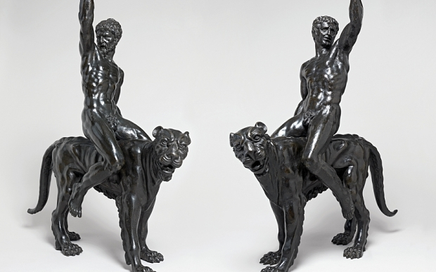 'Bacchants Riding on Panthers', c.1506-08, Italy Bronze (on show at the Fitzwilliam Museum Cambridge to August 2015) Photo: The Fitzwilliam Museum, Image Library