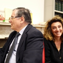 Left: Prof. A. Paravicini-Bagliano, President of SISMEL