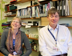 Judy Burg, Prof. Richard Higgins