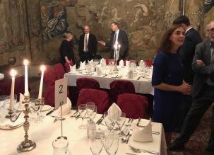 Dinner at Senate's Room